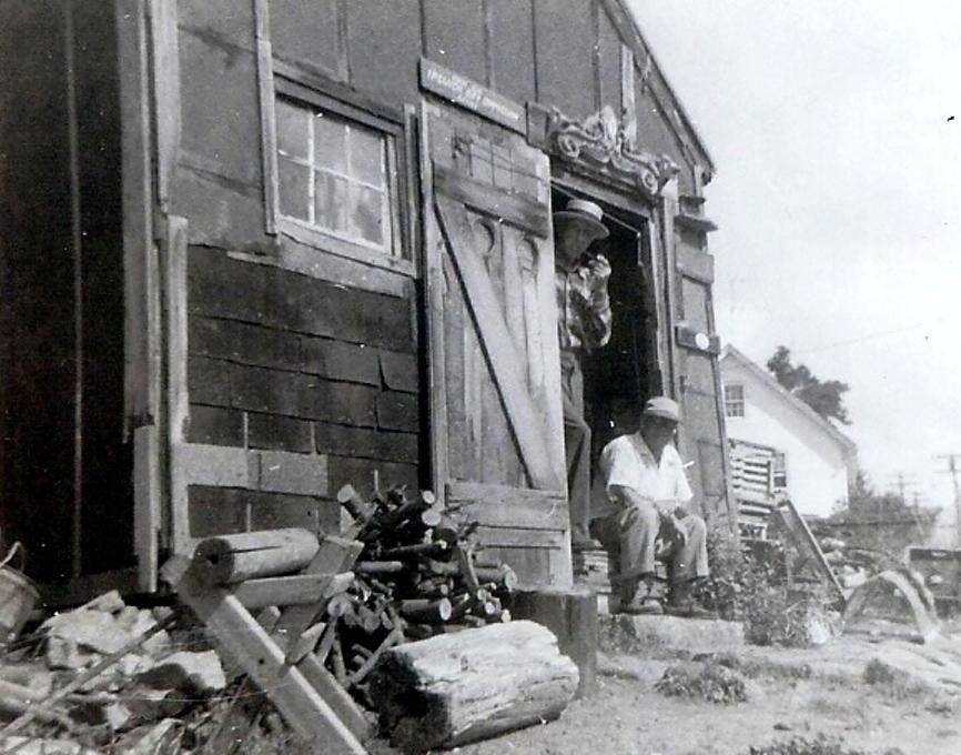 duke toretta and george rodgers - 1955