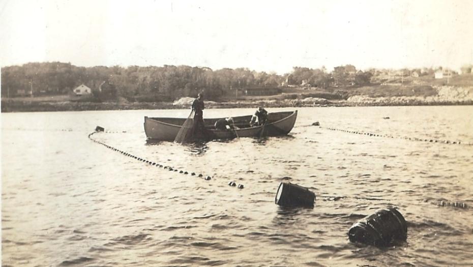 fishing off lanesville