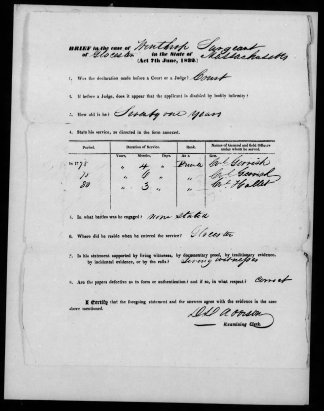 fold3 page_4 winthrop sargent revolutionary war pension and bountyland warrant application files-1