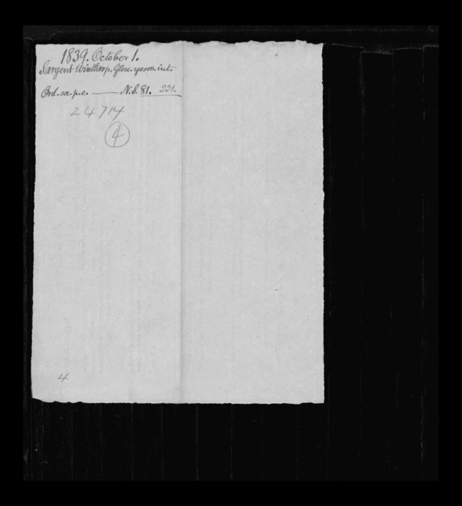 pg 12 winthrop sargent essex county, ma, 24714 probate file papers 1839
