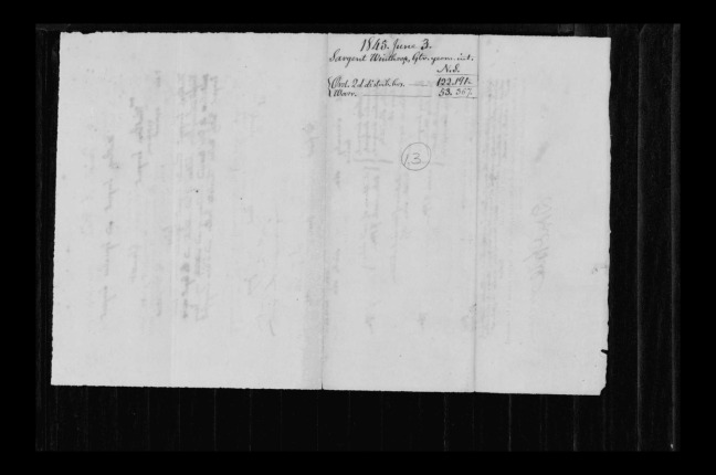 pg 16 winthrop sargent essex county, ma, 24714 probate file papers 1839