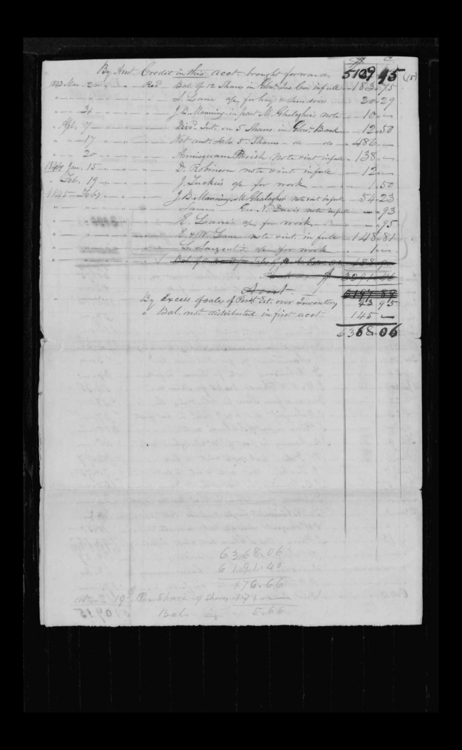 pg 18 winthrop sargent essex county, ma, 24714 probate file papers 1839