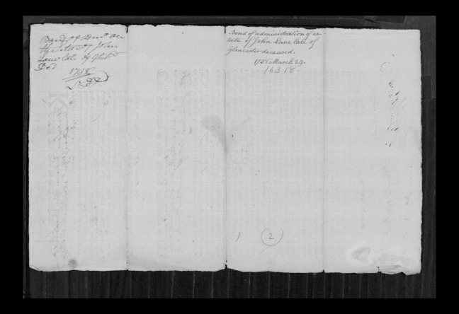 pg 24 john lane 16318 essex county, ma, probate file papers 1738