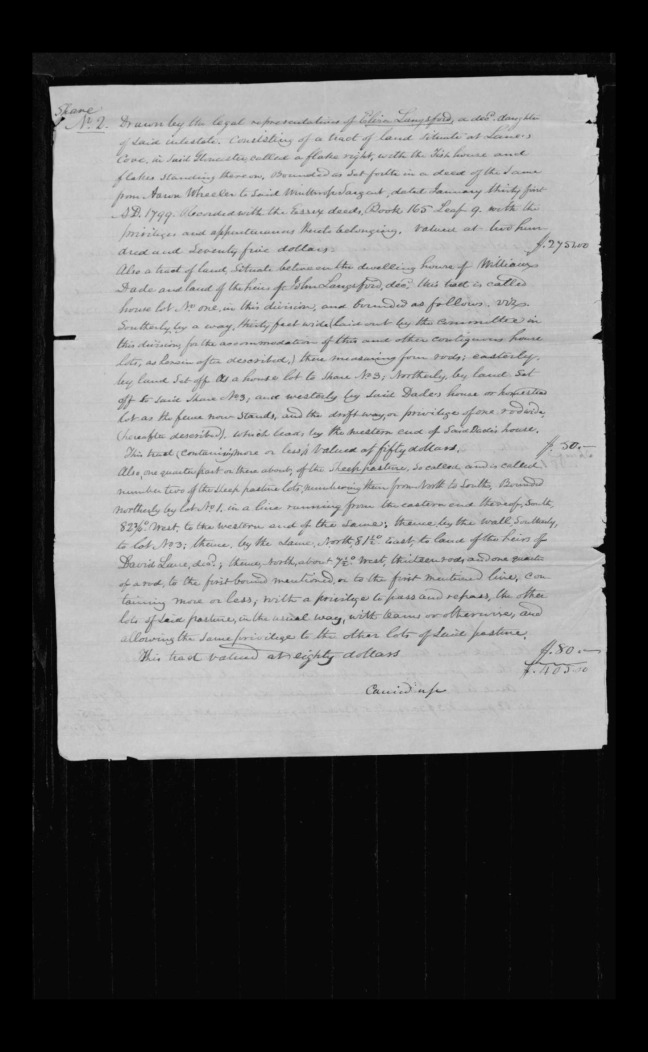 pg 38 winthrop sargent essex county, ma, 24714 probate file papers 1839