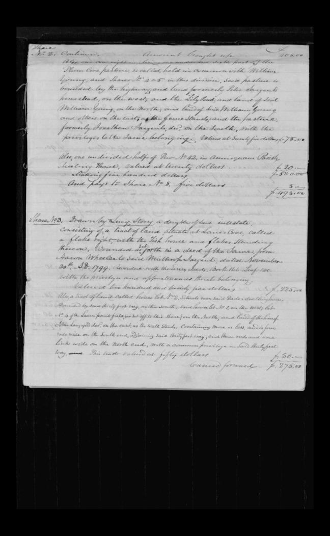 pg 39 winthrop sargent essex county, ma, 24714 probate file papers 1839