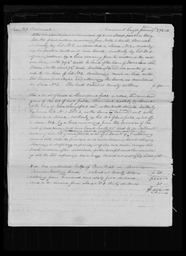 pg 40 winthrop sargent essex county, ma, 24714 probate file papers 1839