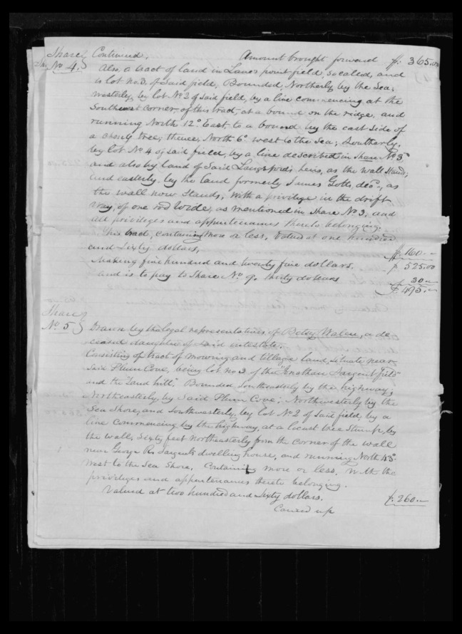 pg 42 winthrop sargent essex county, ma, 24714 probate file papers 1839
