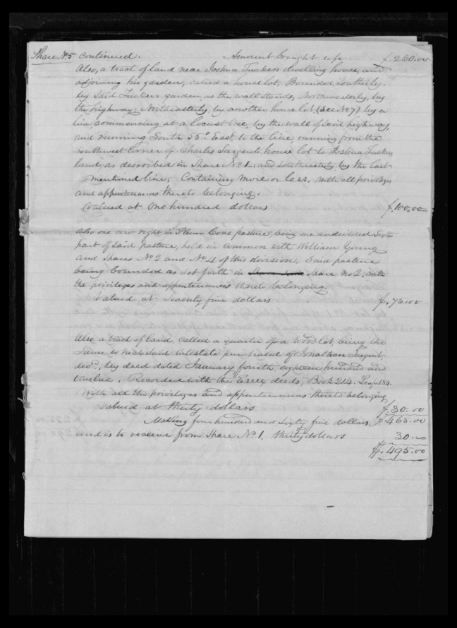pg 43 winthrop sargent essex county, ma, 24714 probate file papers 1839