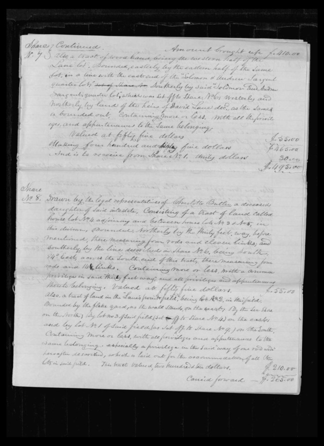 pg 47 winthrop sargent essex county, ma, 24714 probate file papers 1839