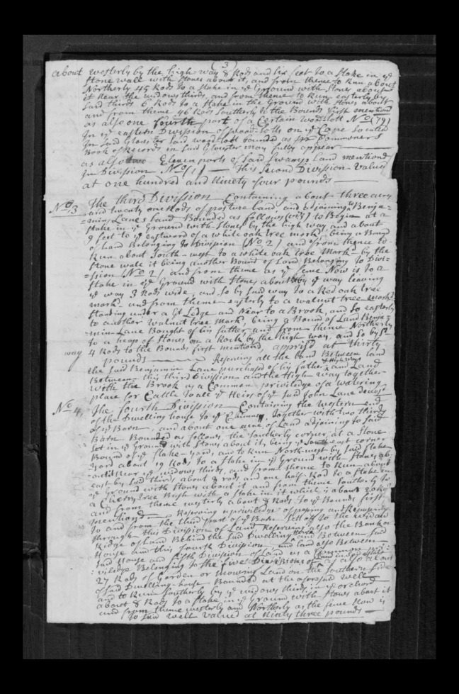 pg 48 john lane 16318 essex county, ma, probate file papers 1738