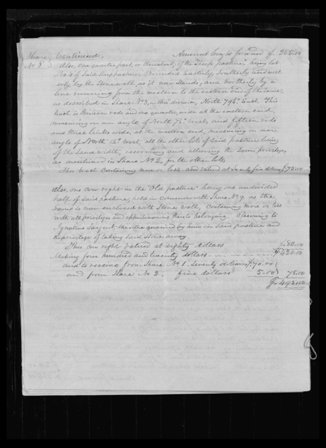 pg 48 winthrop sargent essex county, ma, 24714 probate file papers 1839