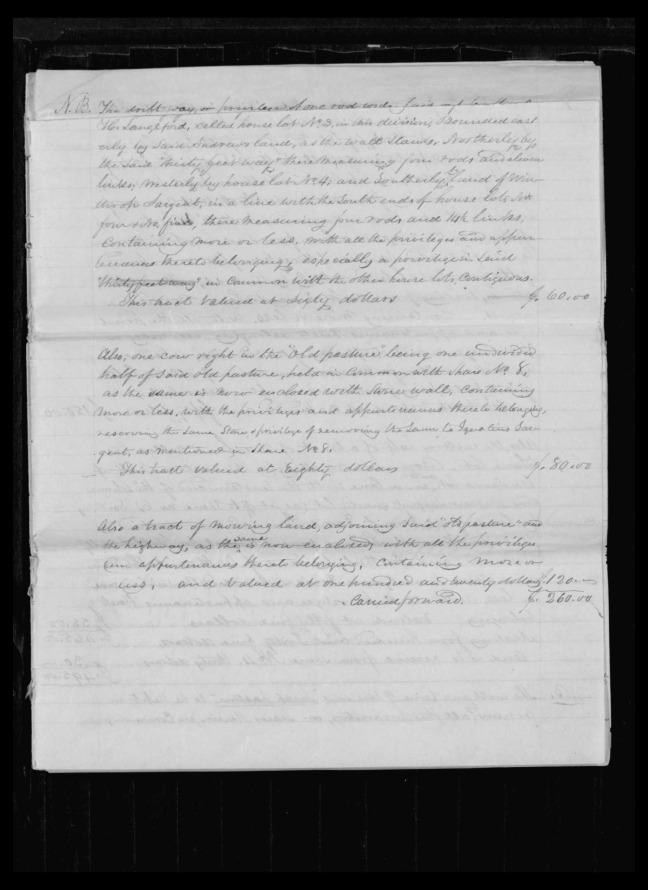 pg 49 winthrop sargent essex county, ma, 24714 probate file papers 1839