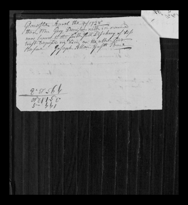 pg 51 john lane 16318 essex county, ma, probate file papers 1738