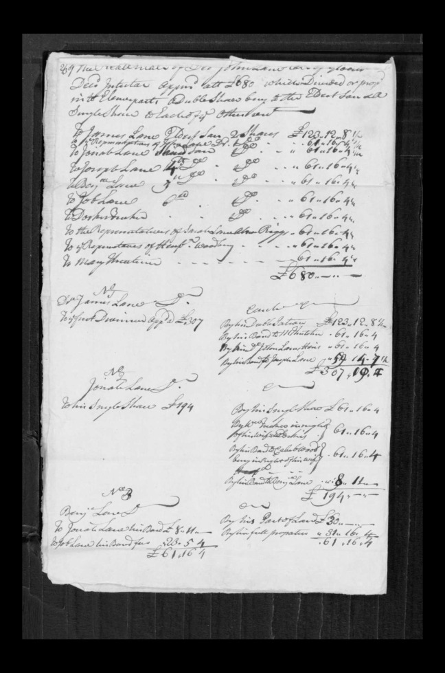 pg 61 john lane 16318 essex county, ma, probate file papers 1738