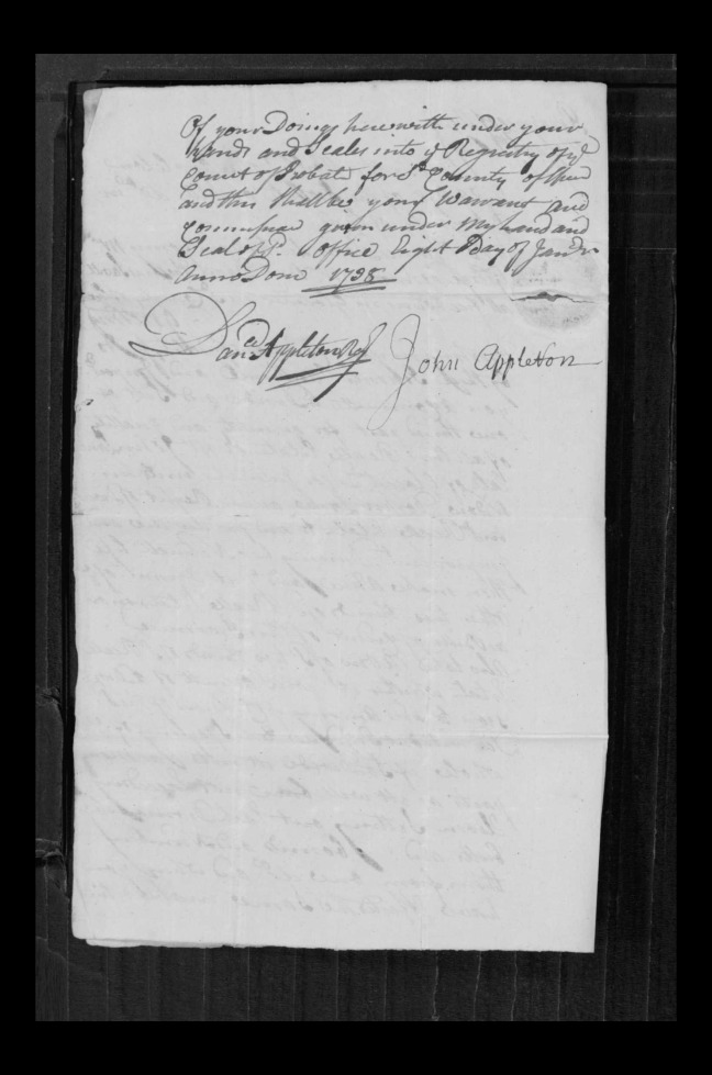 pg 70 john lane 16318 essex county, ma, probate file papers 1738