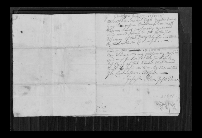 pg 71 john lane 16318 essex county, ma, probate file papers 1738